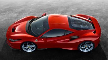 Ferrari F8 Tributo - above