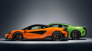 McLaren 600LT - comparison