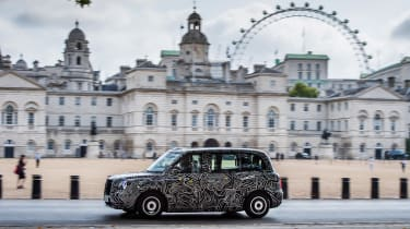 TX London Taxi - London Eye