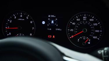 Kia Sportage - dials