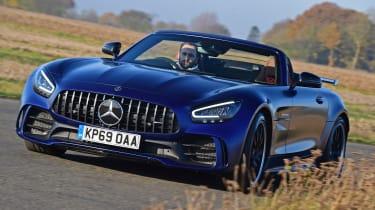 Mercedes-AMG GT R Roadster - front action