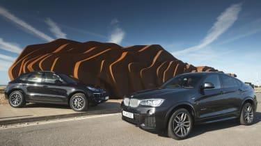 BMW X4 vs Porsche Macan
