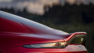 Aston Martin Vantage AMR - rear spoiler