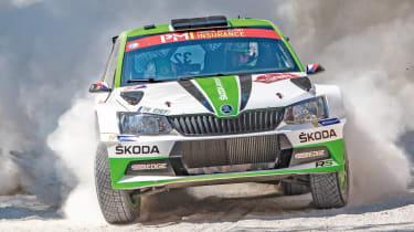 Skoda WRC2 - action