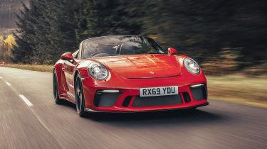 Porsche 911 Speedster - front action