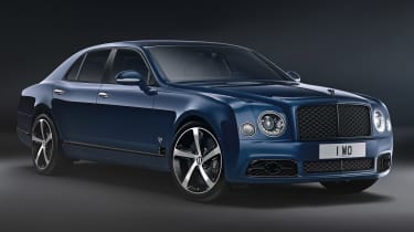 Bentley Mulsanne 6.75 edition - front