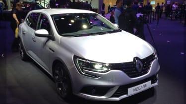 Renault Megane Frankfurt front