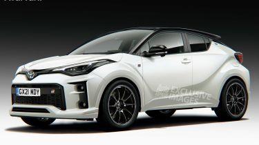 Toyota GR C-HR render