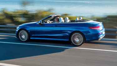 Mercedes C-Class Cabriolet - side