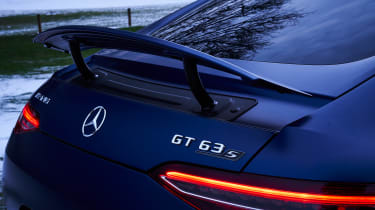 mercedes-amg gt 4-door rear wing