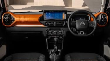 Citroen C3 small SUV - cabin