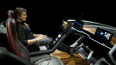 Bosch concept at CES 2017 - side