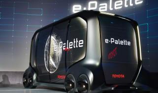 Toyota e-Palette - CES front