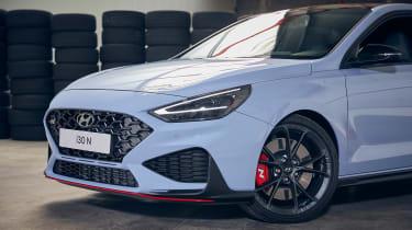 New Hyundai i30 N 2021 - grille