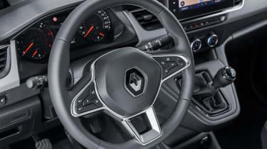 Renault Kangoo Van - steering wheel