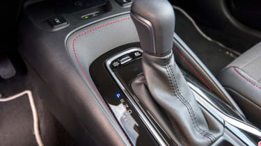 Toyota Corolla Touring Sports prototype - transmission