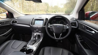 Ford Edge second report - dash