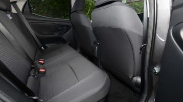 Toyota Yaris - rear seats