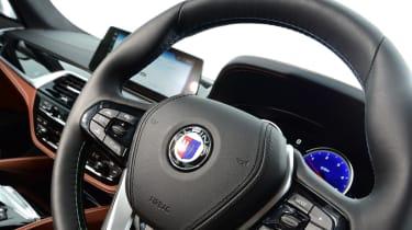 Alpina D5 S steering wheel