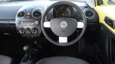 VW Beetle - modern classic dash