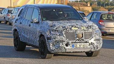 Mercedes GLS spy