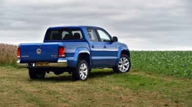 Volkswagen Amarok pick-up 2016 - rear static