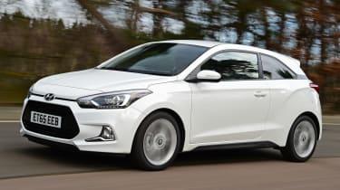 Hyundai i20 Coupe - front