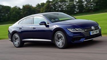 Volkswagen Arteon review - road front