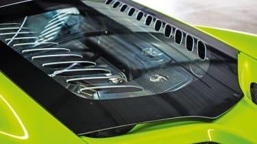 McLaren 675LT - engine