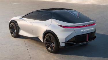 Lexus LF-Z Electrified concept - rear static