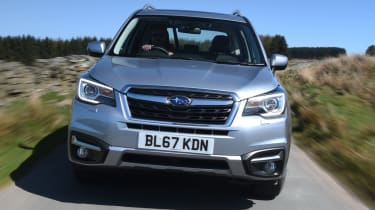 Subaru Forester grille