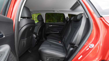 Hyundai Santa Fe - rear seats