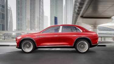 Vision Mercedes-Maybach SUV - side