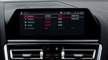BMW M8 Gran Coupe - infotainment
