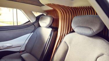 Renault Symbioz concept - rear seats detail