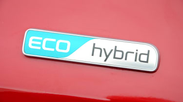 Kia Niro long-term - first report Eci hybrid badge