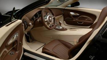 Jean Bugatti Veyron cabin