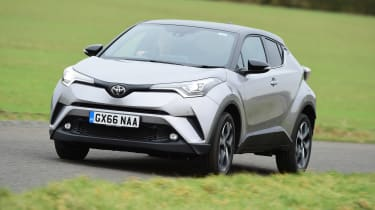 Toyota C-HR - front/side