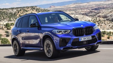BMW X5 Competition - front