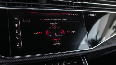 Audi RS Q8 - infotainment