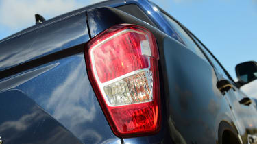 SsangYong Musso - taillight