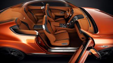 Bentley Continental GT Speed Black Edition inside