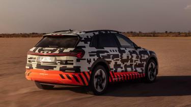 Audi e-tron Prototype review - rear tracking