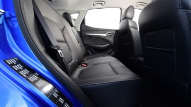 MG ZS - rear seats