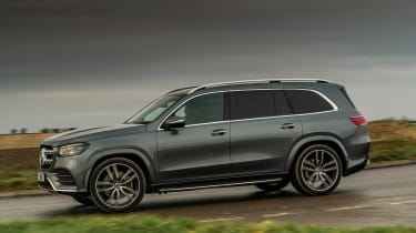 Mercedes GLS - side