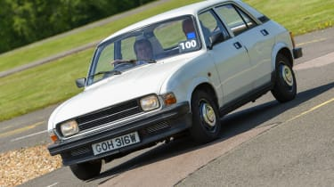 Top 10 worst cars - Austin Allegro front cornering