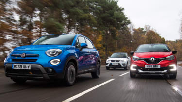 fiat 500x group test header