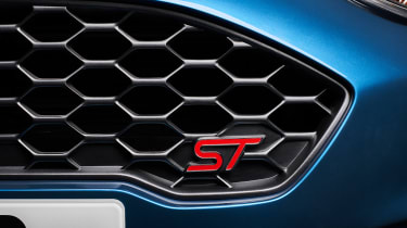 Ford Fiesta ST 2017 - outside grille