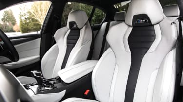 New BMW M5 - front seats