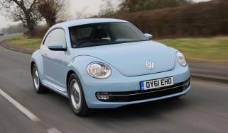 Volkswagen Beetle 1.2 TSI front tracking
